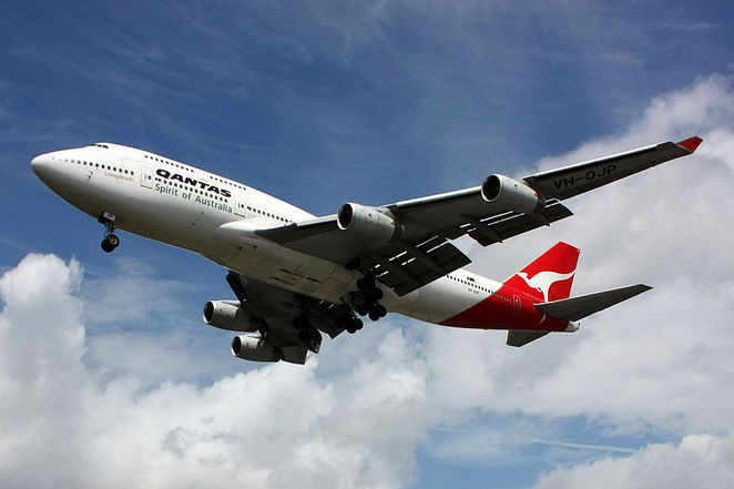 Qantas, airplane, aeroplane, aircraft, spirit of australia, how to save on airfares