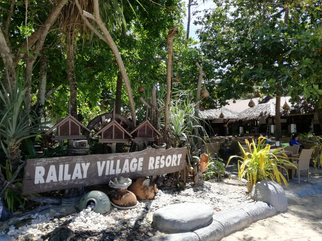railay village resort krabi thailand beach