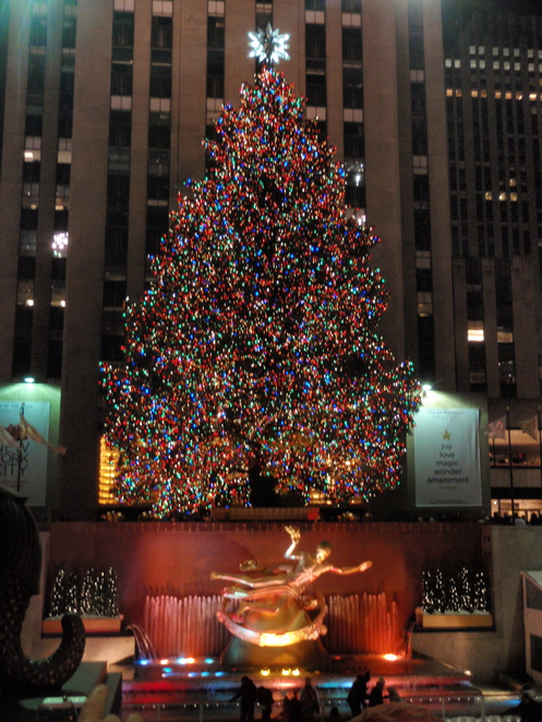Rockefeller Center Christmas Tree, Christmas Tree in New York, Christmas in New York, Manhatten in December, New York at Christmas, Xmas in NYC