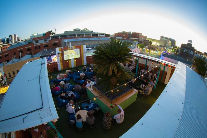 Rocket, Rooftop Bar, Cinema, Adelaide, Sit Lo, Free, Popcorn