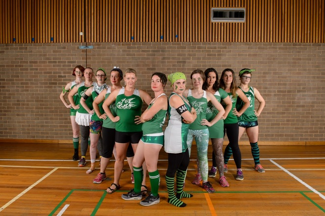 roller derby Canberra sport women family friendly