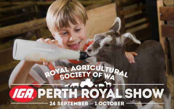 The IGA Perth Royal Show is on again