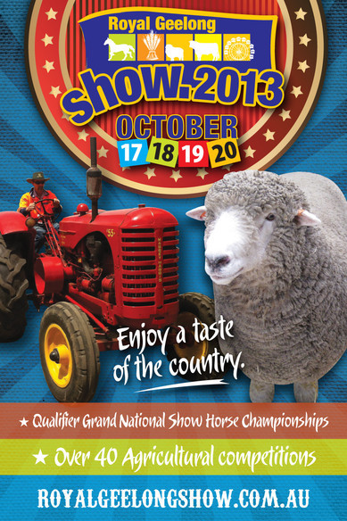 This image is from the Geelong Show website.