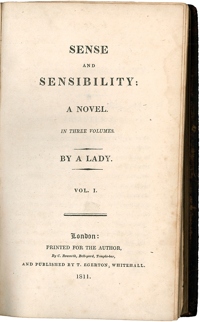 a book report on sense and sensibility by jane austen Submit a manuscript report piracy media publicity contacts press room sense and sensibility by jane austen we'd love you to buy this book, and hope you find this page convenient in locating a place.