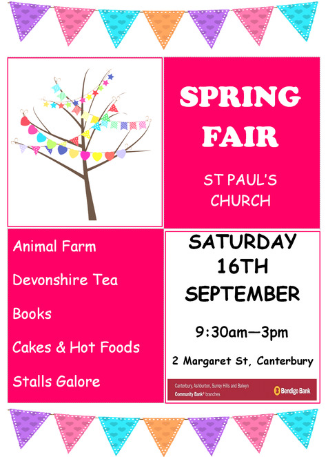 st paul's spring vair 2017, st paul's canterbury, free event, community event, fun things to do, family fun, fu of the fair, food vendors, games, entertainment, free admission, kid friendly