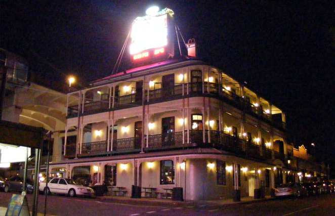 The Story Bridge Hotel is a nice place to go for dinner or drinks before or after the show