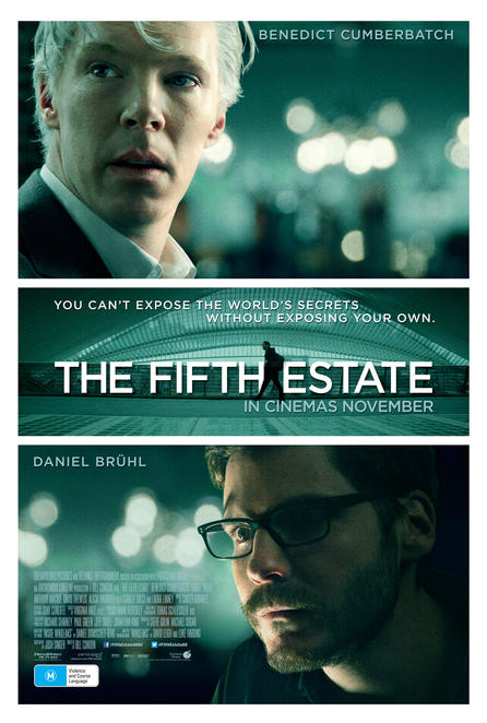 The Fifth Estate, film, movie, review, cinema, Julian Assange, Wiki-Leaks, book
