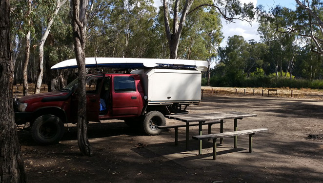 The Murray River has many opportunities for camping and many recreational activities
