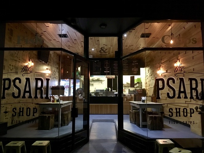 The Psari Shop, Fish and Chips, Jade Jackson Photography, Dulwich Hill