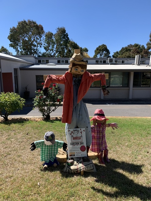 The story of Easter scarecrow