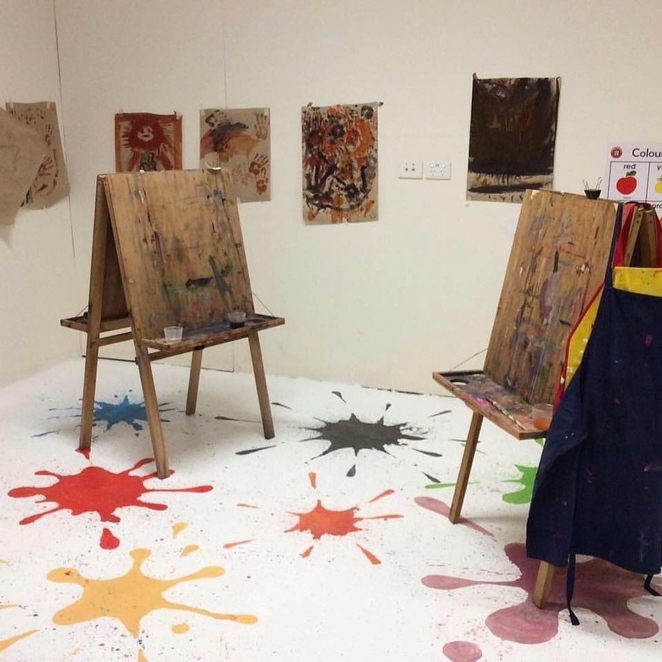 Toddler Wednesday, Caloundra Regional Gallery, Sunshine Coast Council, A Little Creative, toddlers, two to four years of age, relaxed environment, Lindy Saunders, $10 per child, limited places, registration essential, educational, creative, complimentary tea and coffee for parents and carers
