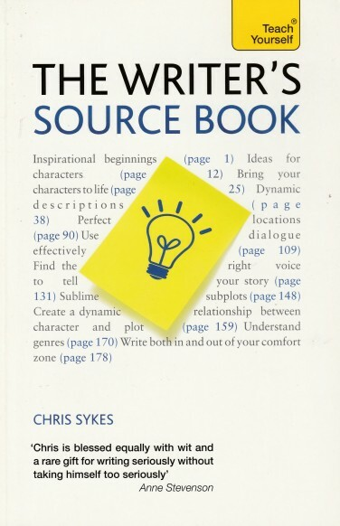 writer, source book, chris sykes, writing, book