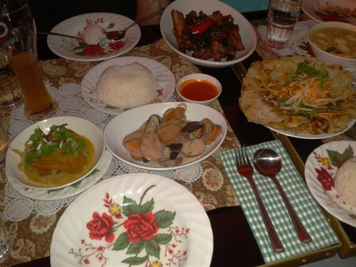 Thai food, yum!