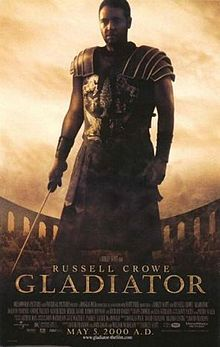 Gladiator Russell Crowe poster