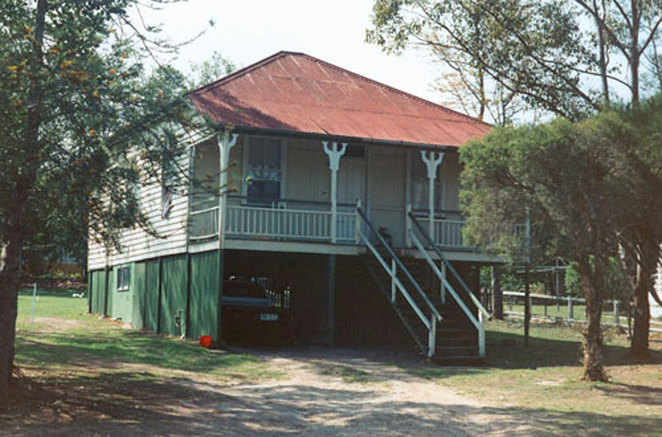 A great example of a Queenslander built at 48 William Street, Ipswich Queensland.