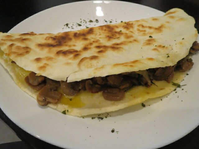 A Little Bit of Mexico, Mushroom & Spinach Quesadilla, Adelaide