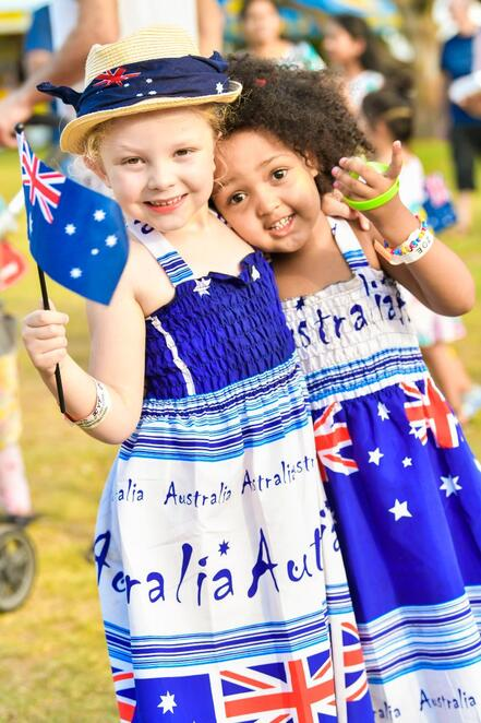 australia day 2020 at bella vista farm park, community event, fun things to do, cultural event, the wiggles, the black sorrows, vika and linda, simply bushed, diana rouvas, dauntless movement crew, free event, rides, fireworks, food trucks, entertainment, activities