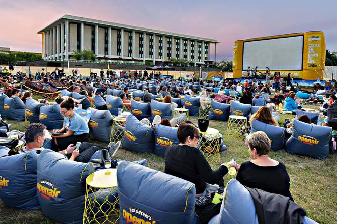 ben and jerrys openair cinema, canberra, ACT, patrick white lawns, summer, events, festivals, january 2017, february 2017, 2017,