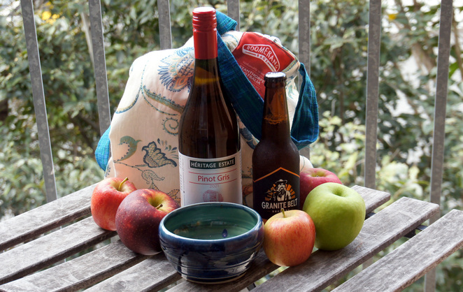 A few of the products you can pick up in Stanthorpe
