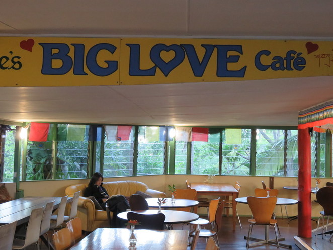 Big Love Cafe, Chenrezig Institute, Buddhist Centre, Retreat, Sunshine Coast,