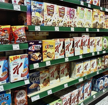 breakfast cereals in spain barcelona el corte ingles