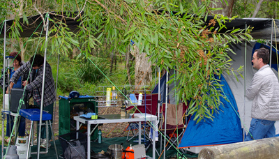 camping boreen point, camping lake cootharaba