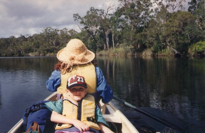 Canooing the Upper Noosa River