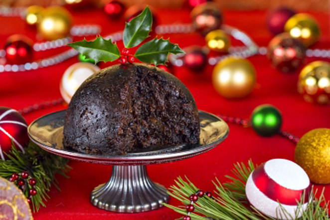 Christmas Greetings from the Front at ANZAC Cottage, Christmas pudding