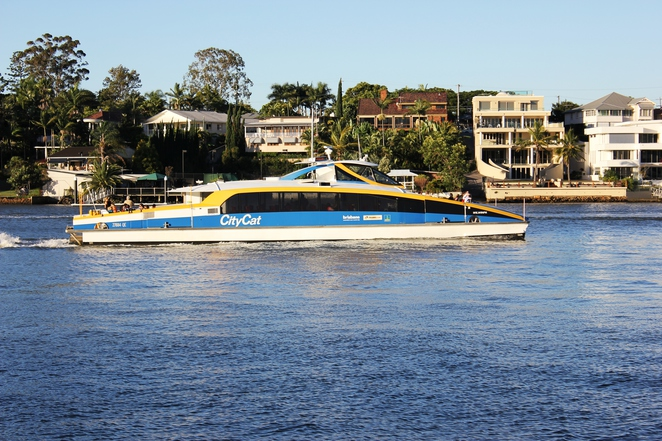 Citycat, Brisbane River