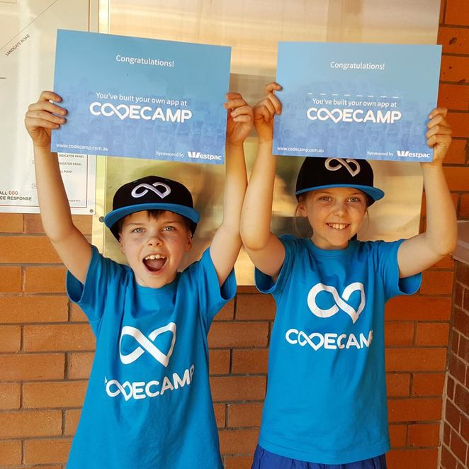 code camp, ACT, school holiday activities, programs, workshops, coding, kids, children, ACT, school holidays, july, 2018