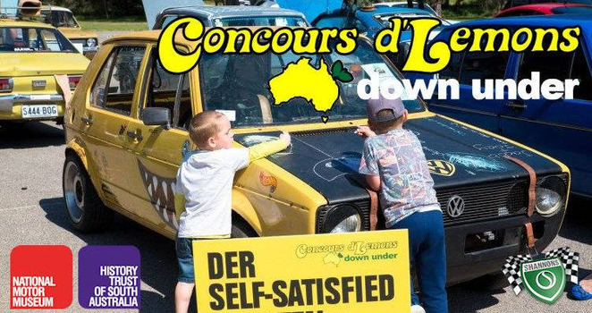 concours d'lemons down under, billetproof down under, entertainment, food vans, car show, hot rods, balloon artist, rust buckets, hoopties, kangaroo karts, customs, lead sleds, choppers, café racers, un-loved cars, drag cars