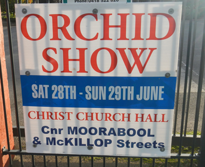 Geelong Orchid Show 2014