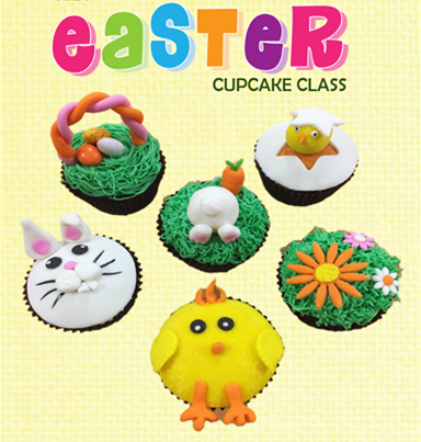 Easter Cupcake Classes, Cake Decorating Solutions