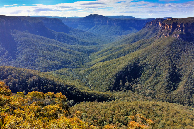 Evans Lookout, Blue Mountains, Grand Canyon