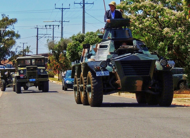 free entry, national military vehicles museum, military vehicles museum, school holidays, in adelaide, alvis saracen