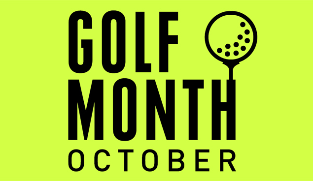Golf month October play golf