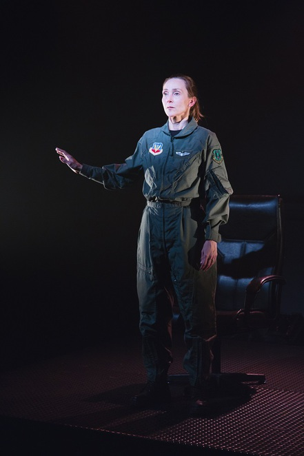 Grounded, Perth Fringe Festival 2017, Alison van Reeke, The Blue Room Theatre, George Brant