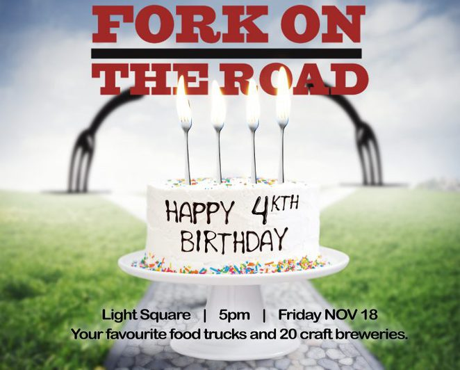 Happy FORKth Birthday, Fork On The Road
