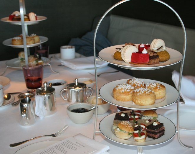 High tea Park Hyatt Sydney
