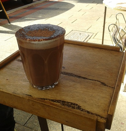 hot chocolate, Blink, coffee bar, Fremantle
