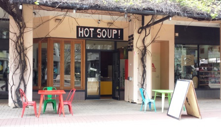 Hot Soup!, Fremantle, pay it forward, homeless