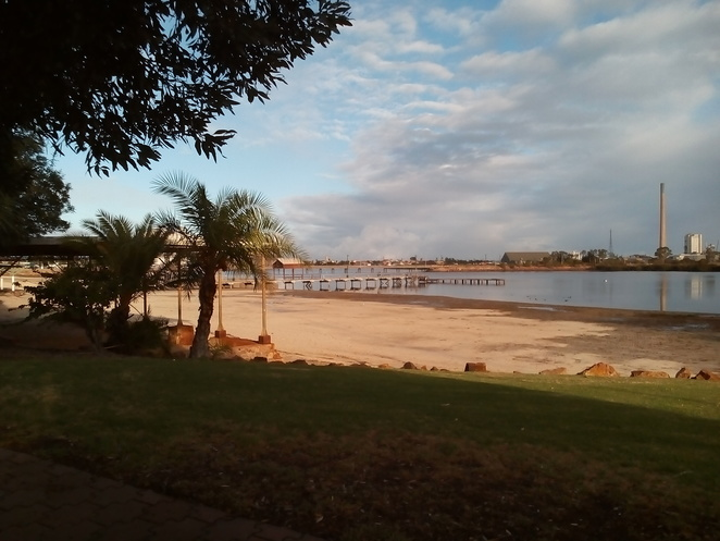 jetty, historic Port Pirie, Port Pirie, South Australia, Solomontown beach, waterways, inlets, swimming beach