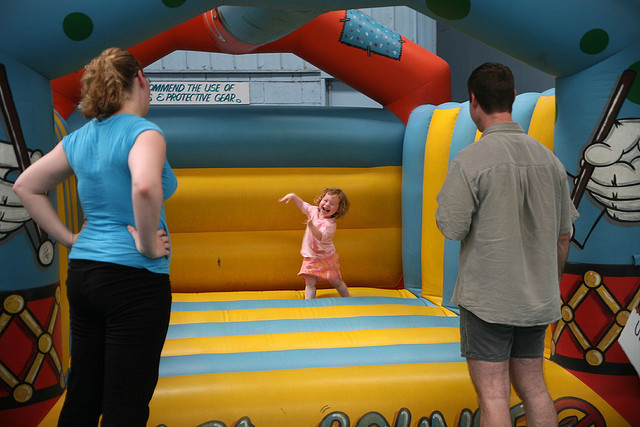 jumping castle, fun, kids, kid friendly, cotton tree, maroochydore, christmas, christmas day, lunch, food, free