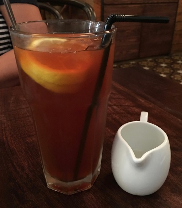 K-Town Bar and Grill, iced lemon tea, Kennedy Town, KennedyTown, restaurant, open-fronted, Sai Ying Pun, KT, KTown