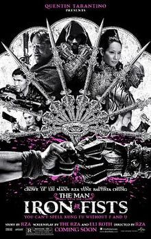 man, iron, fists, movie, RZA, russell crowe