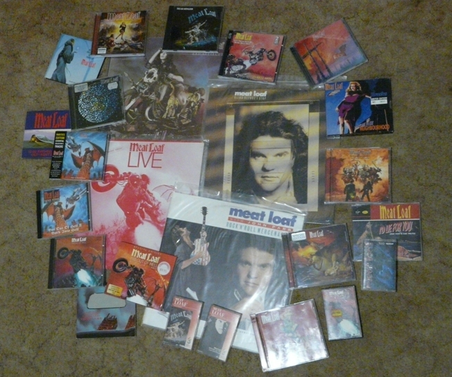 meat loaf, album, collection