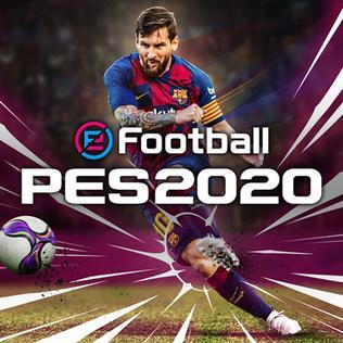 Messi, video game, PES, soccer, software, 2020