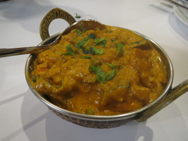 New India Restaurant, Mixed Vegetable Korma, Adelaide