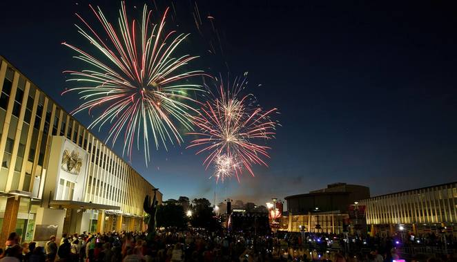 new years eve in the city, canberra, 2018, 2019, 2020, fireworks, civic square, ACT, whats on, free events,