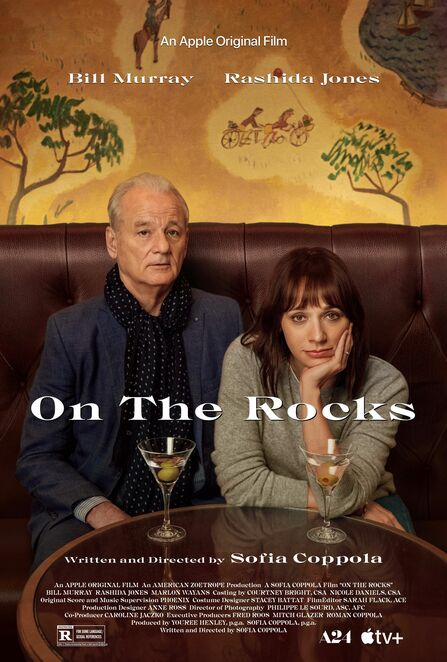 on the rocks 2020 film review, community event, fun things to do, cinema, date night, night life, movie review, movie buffs, sofia coppola, bill murray, rashida jones, marlon wayans, entertainment, performing arts, actors